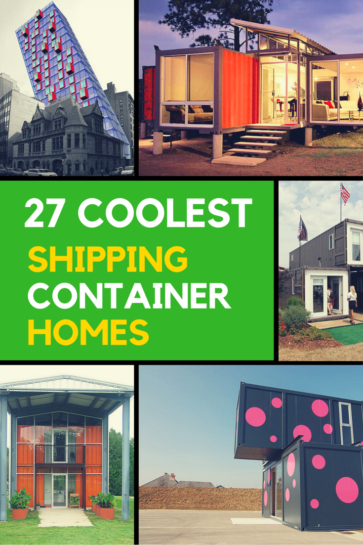 Stylish Shipping Container Homes