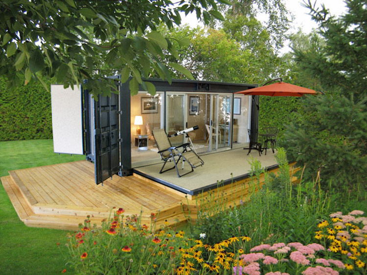 4 the ecopod - Shipping Container Homes Canada