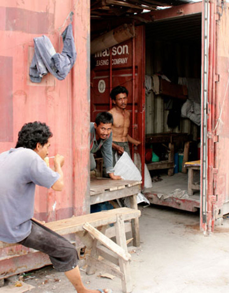 The Jakarta Container Lifestyle