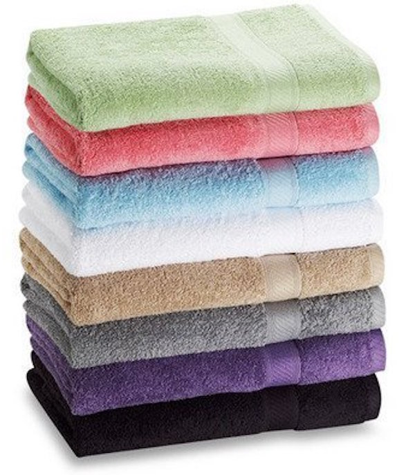 7-Pack- 27%22 x 52%22 100% Cotton Extra-Absorbent Bath Towels