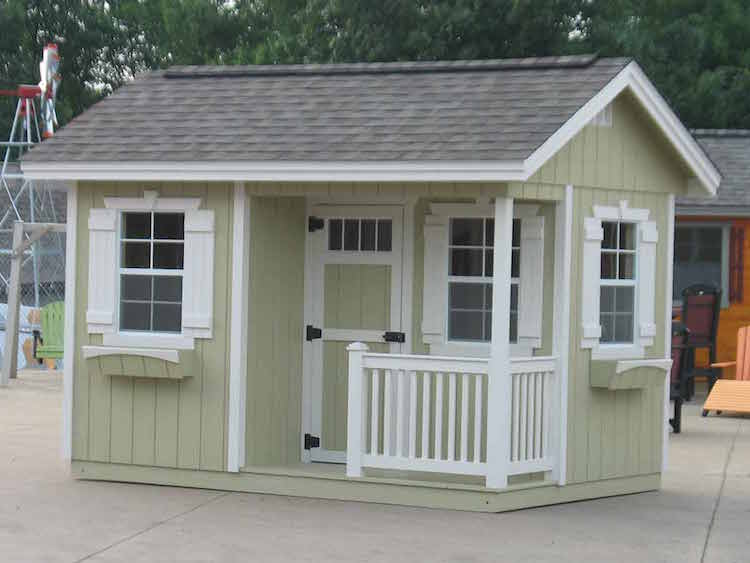 Cottage Style Shed