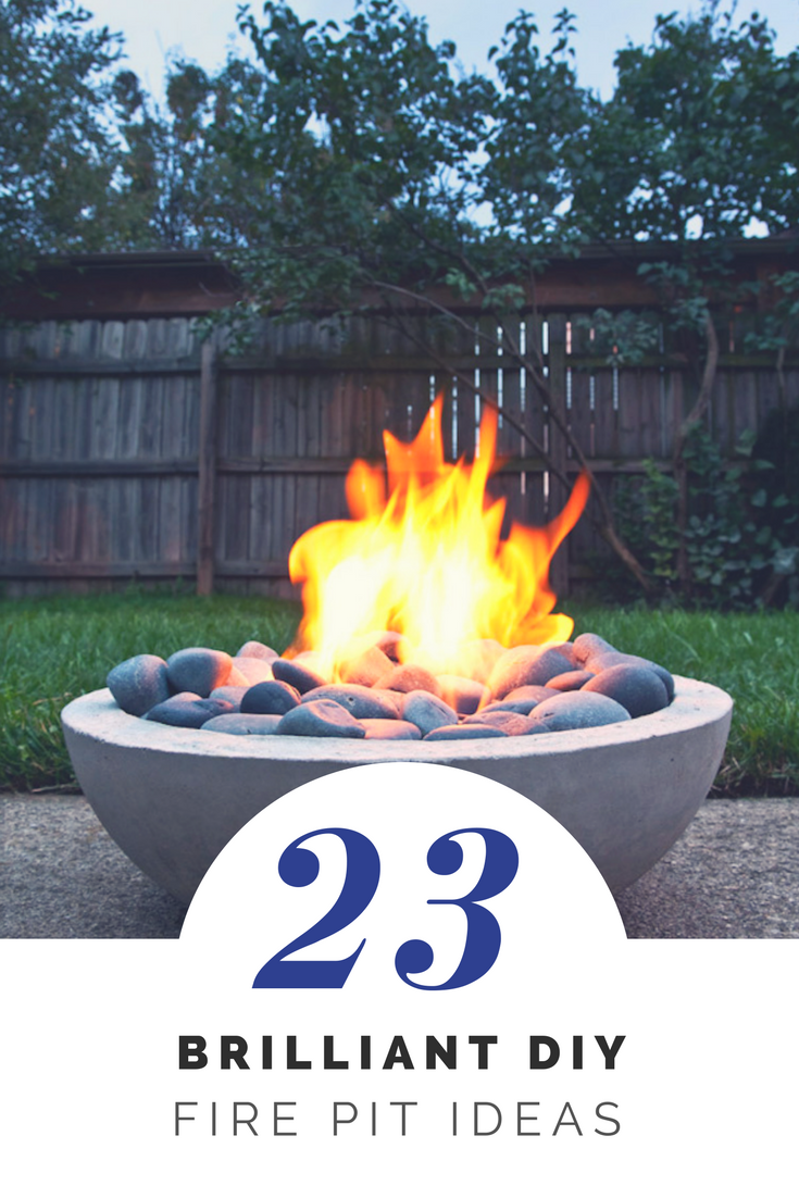 23 Brilliant DIY Fire Pits You Can Build Easily | Ideahacks.com