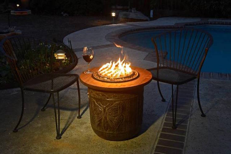 Flower Pot Fire Pit