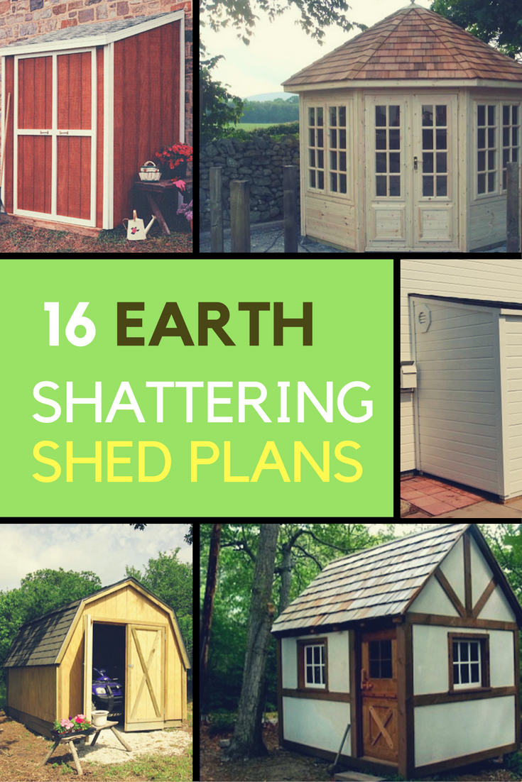 16 Ways to Learn How to Build Your Own Shed. | Ideahacks.com