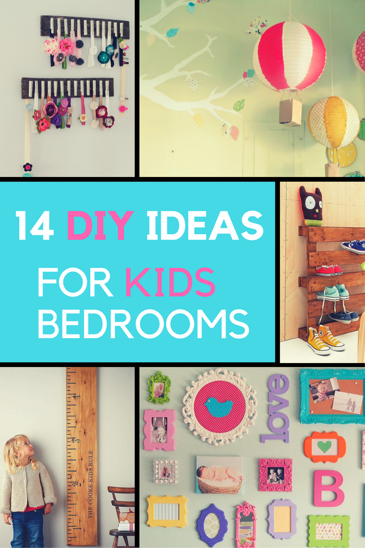 14 Adorable DIY Ideas for Kids Bedrooms That You'll Love | Ideahacks.com
