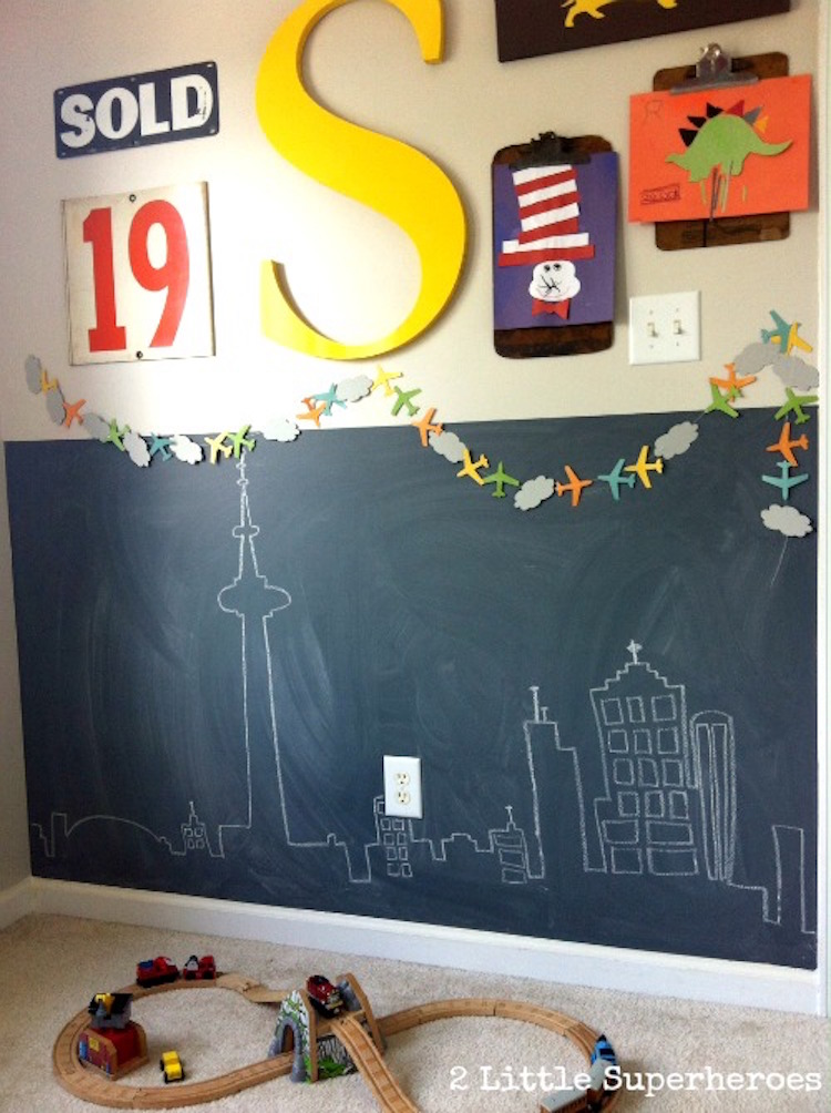 Lullaby Paints Chalkboard Wall