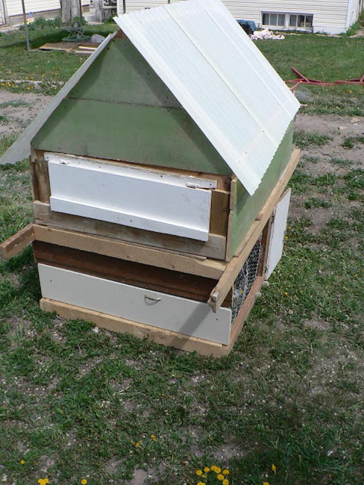 Melissa's DIY Chicken Coop