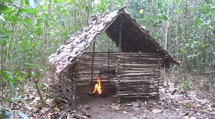 Mud Hut Shelter