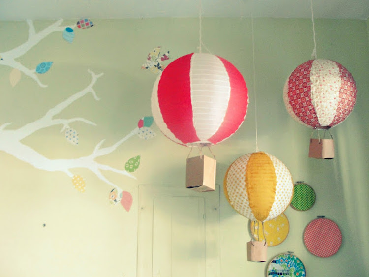 Paper Lantern Hot Air Balloons