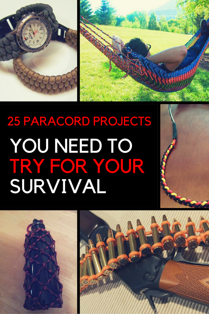 25 Survival Projects You Need to Try With The Paracord Bracelet. | Ideahacks.com