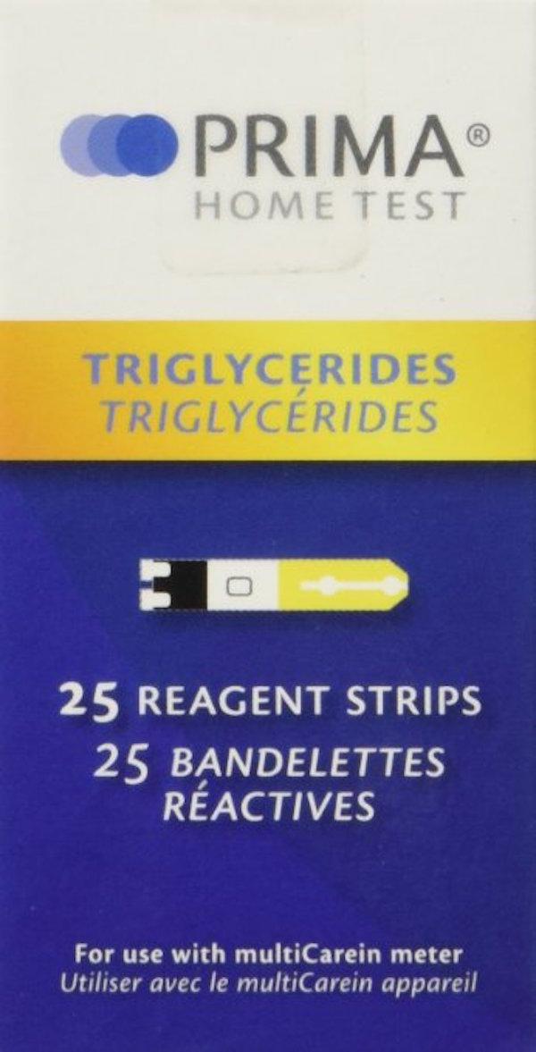 Prima Triglycerides Test Strips