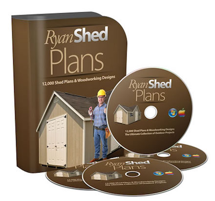 Ryan Shed Plans ebook
