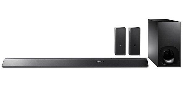 Sony HT-RT5 Soundbar with 2 Wireless Rear Speakers