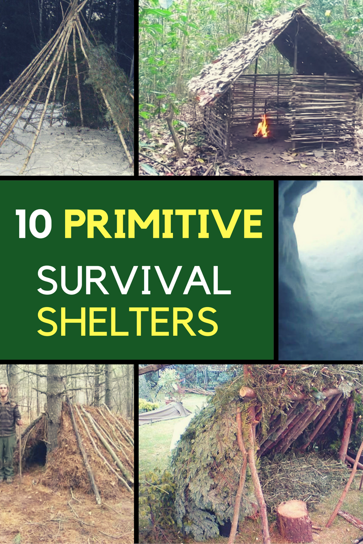 10 Primitive Survival Shelters That Could Save Your Life. | Ideahacks.com