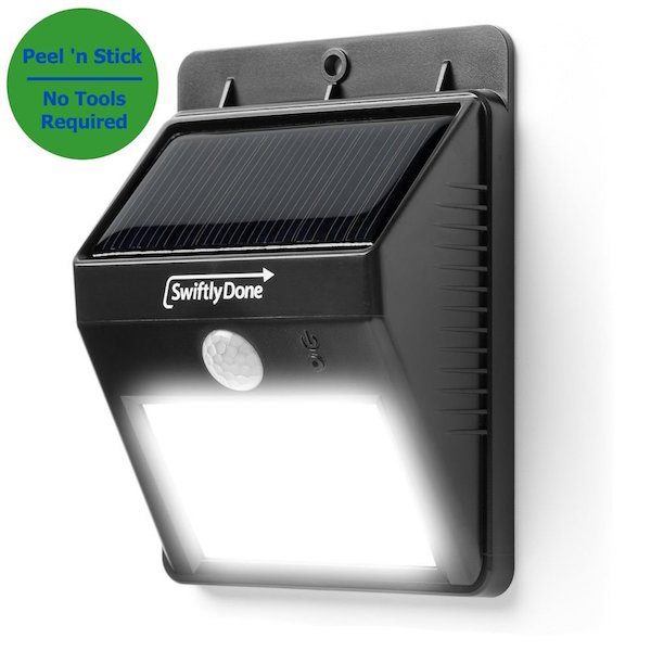 Swiftly Done Bright Solar Power Outdoor LED Light