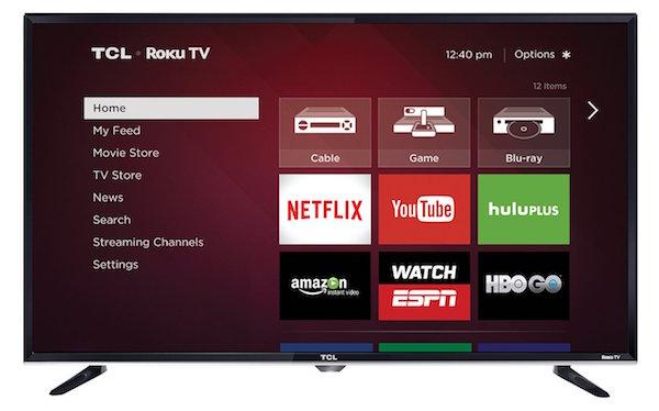 TCL 32S3800 32-Inch 720p Roku Smart LED TV