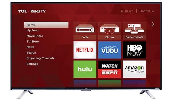 TCL 55US5800 55-Inch 4K Ultra HD Roku Smart LED TV
