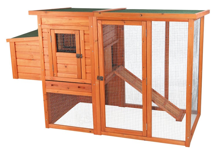 TRIXIE Chicken Coop with Outdoor Run
