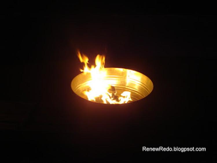 Wash Pail Fire Pit