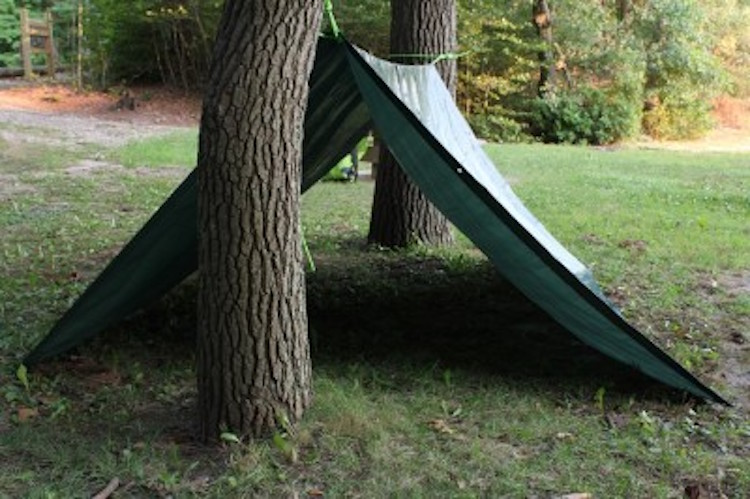 Wedge Tarp Shelter