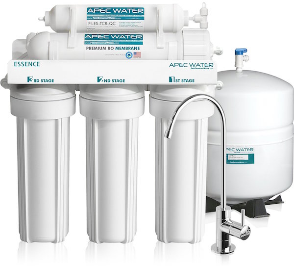 APEC Premium 5-Stage Reverse Osmosis Drinking Water Filter System