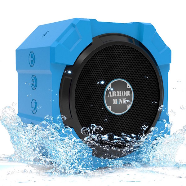 Armor MiNE ™ Bright Blue Ultra Portable Speaker