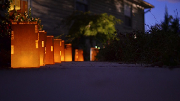 Cityscape luminaries