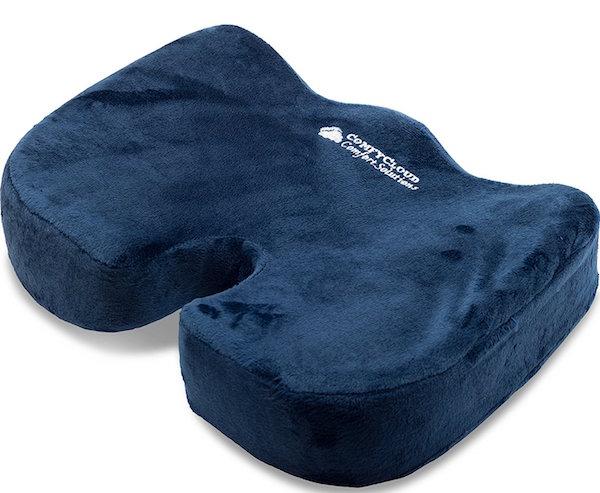 ComfyCloud Coccyx Orthopedic Comfort Foam Seat Cushion
