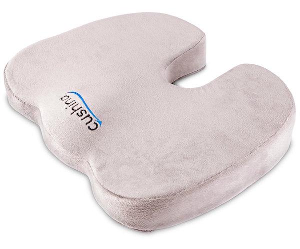Cushina Ergonomic Memory Foam Orthopedic Seat Cushion