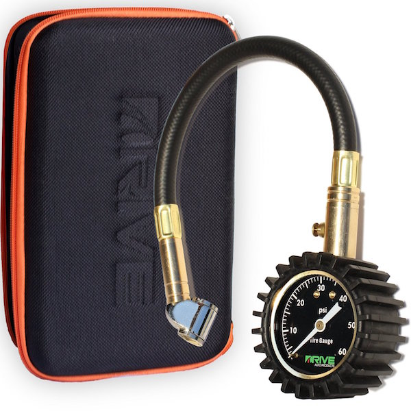 DRIVE® Tire Pressure Gauge & Case