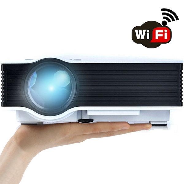 ERISAN ER46W WiFi Wireless Projector