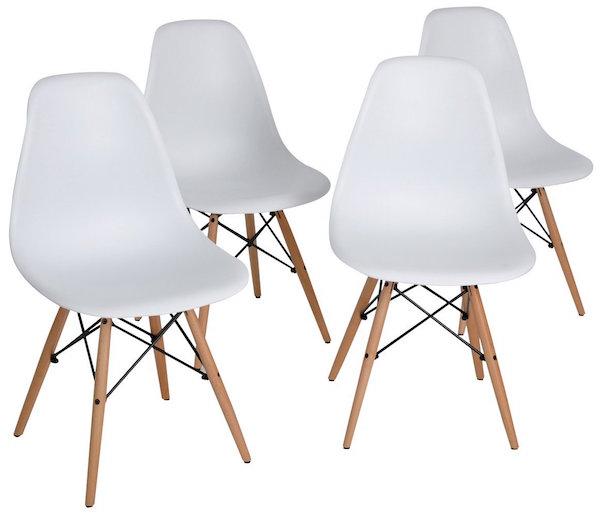 Bon Eleranbe Eames Eiffel DSW Style Side Dining Chairs
