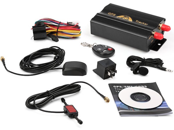 Grikey GPS/GSM/GPRS Vehicle Car Tracker System