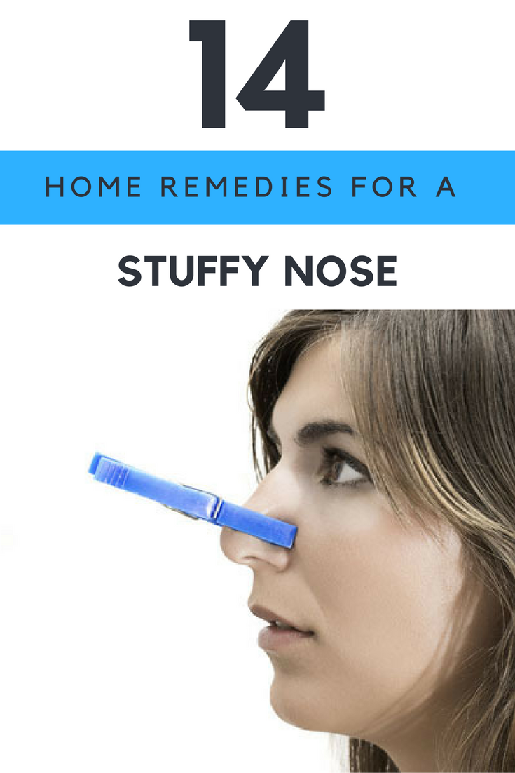 These 14 Home Remedies Will Help Ease a Stuffy Nose. | Ideahacks.com