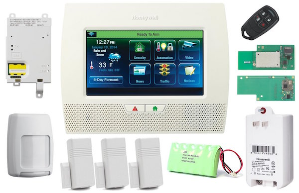 Honeywell Wireless Lynx Touch L7000 Home Automation/Security Alarm Kit