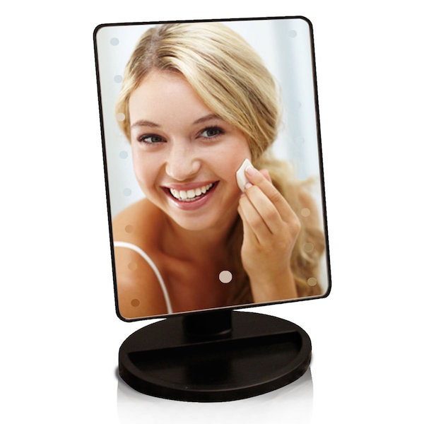 LUXEBEAUTY Touchscreen LED Lighted Makeup Mirror Vanity
