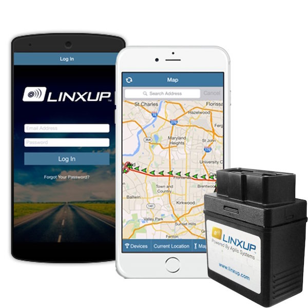 Linxup OBD with 3G GPS Service & GPS System