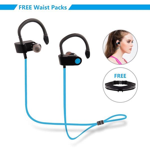 MAYBO SPORTS Sweat proof V4.1 Workout earbuds