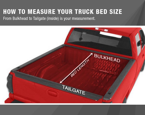 MaxMate Premium TriFold Tonneau Truck Bed Cover
