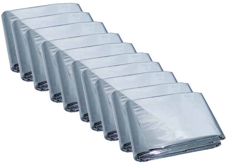 Mylar Men's Emergency Thermal Blankets