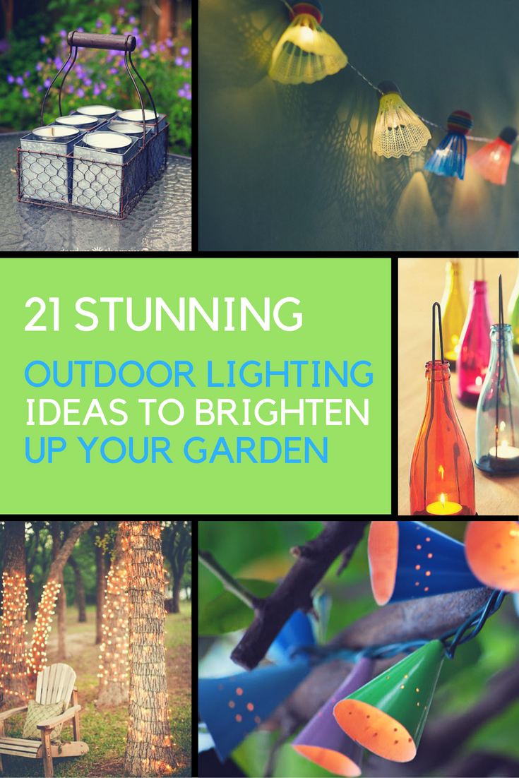 21 Stunning Outdoor Lighting Ideas to Illuminate Your Yard. | Ideahacks.com