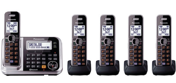 Panasonic KX-TG7875S Link2Cell Bluetooth Enabled Phone