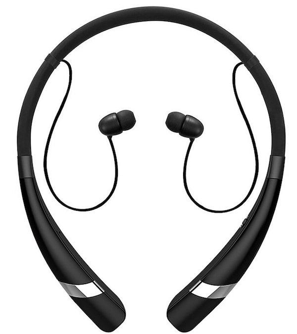 Pobon Sweatproof V4.0 Wireless Neckband Headset Noise Reduction Earbuds