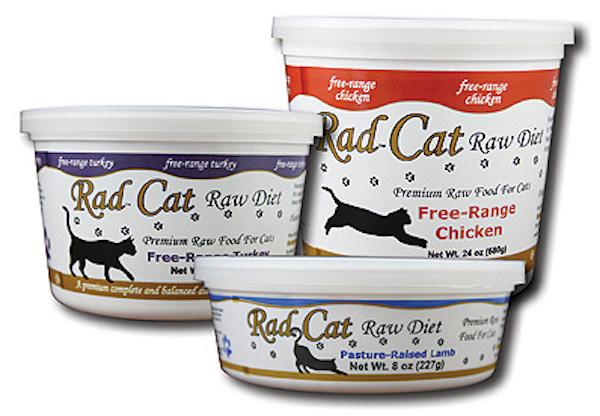 Rad Cat Raw Diet Tubs