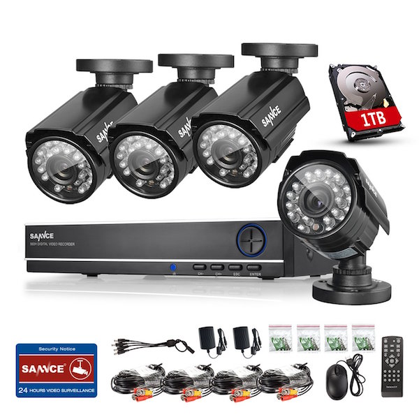 SANNCE 8-Channel 960H Video Security System