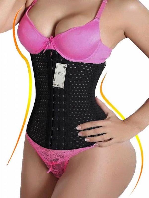 SEXYWG Waist Trainer Cincher Tummy Slimmer Breathable Shapewear Girdle
