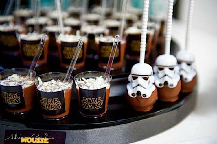 Star Wars mini chocolate mouse