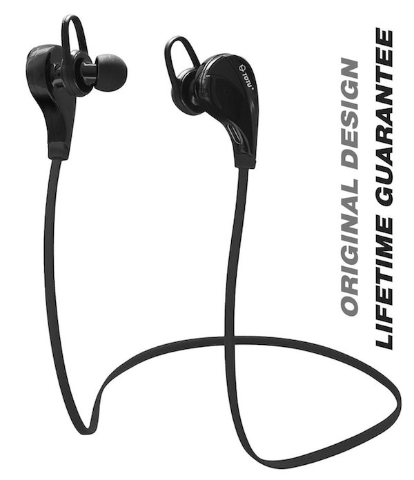TOTU Wireless Bluetooth Noise Cancelling Sports Headphones
