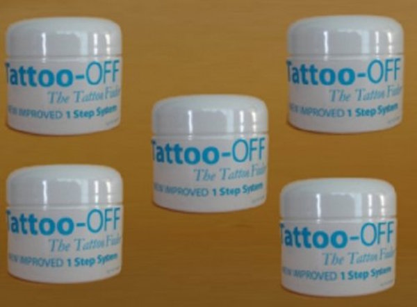 Tattoo Off Removal Five Month Supply