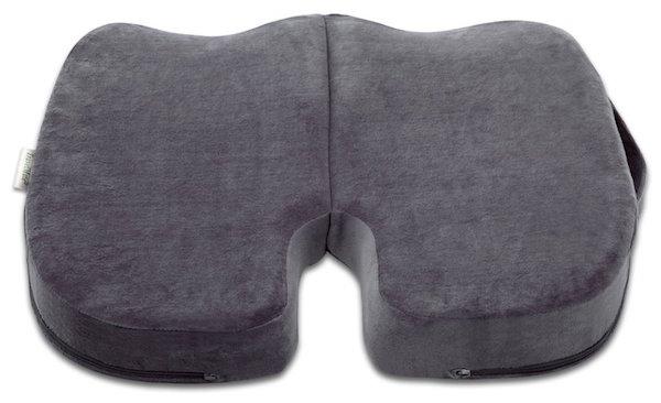 TravelMate Coccyx Orthopedic Gel-enhanced Memory Foam Seat Cushion